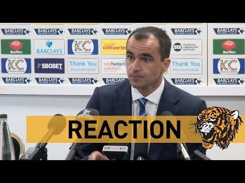 Hull City v Everton | Reaction With Roberto Martinez
