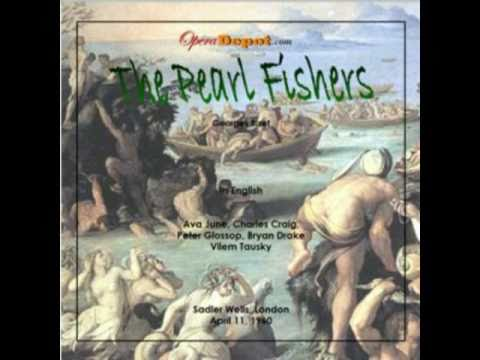 Charles Craig & Peter Glossop sing the Pearl Fishers duet