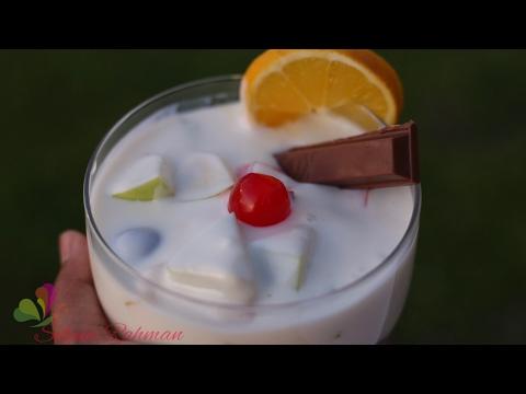 ফ্রুট কাস্টার্ড || Fruit Custard || Easy Recipe || Custard || R# 116