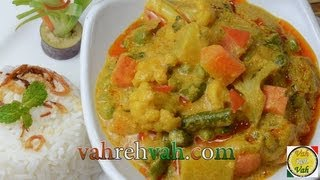 Mixed Vegetable Korma..
