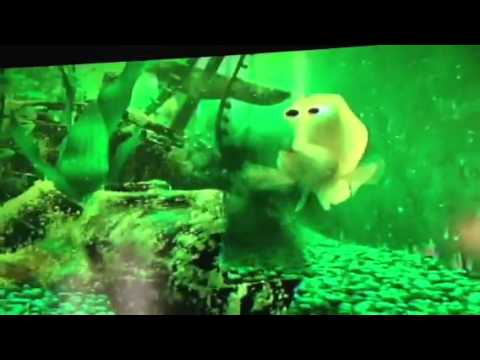 Finding nemo dirty fish tank scene for Finding nemo fish tank
