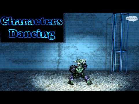 Lex Luthor robot dance