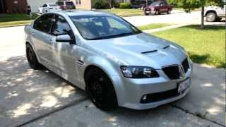 My Fully Built and Cammed Pontiac G8 GT For Sale or Trade!!!