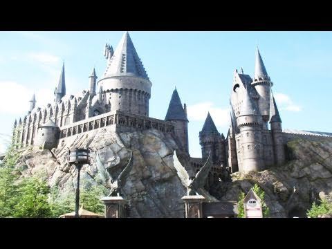 Hogwarts Castle Harry Potter Forbidden Journey Ride (HD Complete Experience) Islands Of Adventure