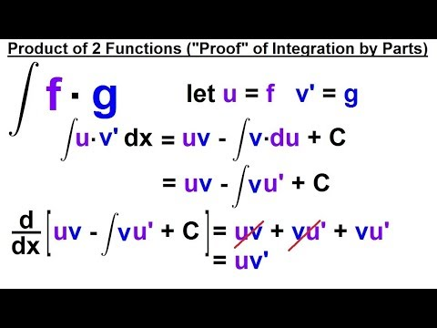 Calculus 2: How Do You Integrate? (8 of 300) A Product of 2 Functions