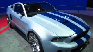 "Ford Mustang With 900HP From ""NEED FOR SPEED"" Movie At LA"
