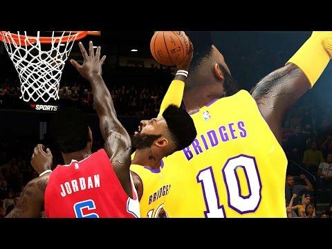 NBA 2k15 MyCAREER Gameplay S2 - DUNKS ONLY Challenge! Old Bridges is Back! Battle for LA Pt. 3