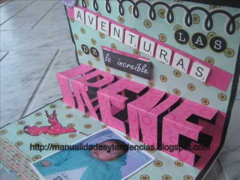 Cómo hacer un libro pop-up 1 / how to make a pop-up book 1