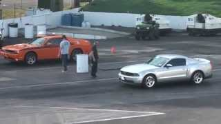 2012 Ford Mustang GT Vs 2012 Dodge Challenger RT