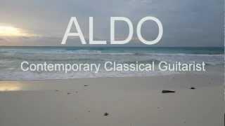 Beautiful Relaxing Ocean With Romantic Instrumental Guitar