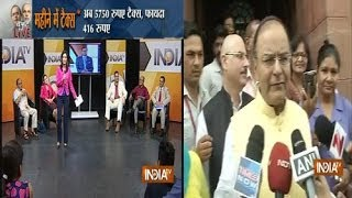 Union Budget 2014 live with Rajat Sharma on India TV, Part 4