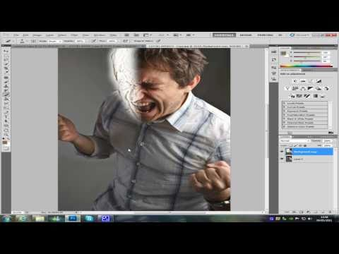 Photoshop CS5 sand man tutorial part 1