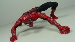 Spider-Man 2 Super Poseable 6 Inch Spider-Man Movie Figure