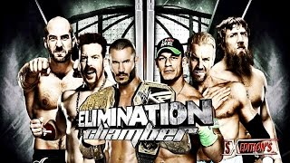 Elimination Chamber 2014 WWE PPV WWE 2K14 Simulation