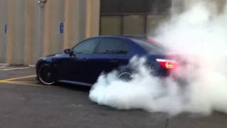 [BMW M5 Burnout] Video