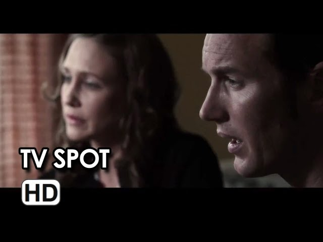 The Conjuring TV SPOT - Right Behind You (2013) - Patrick Wilson Movie HD