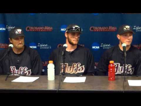 West Texas NCAA Baseball Post Game