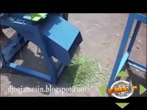 mesin perajang rumput / mesin penggiling rumput / mesin pencacah rumput