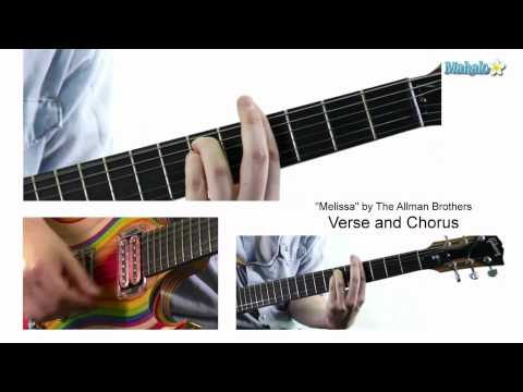 "Lesson 31: ""Melissa"" by Allman Brothers on Guitar"