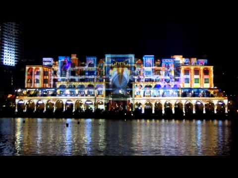 DUBAI FESTIVAL OF LIGHTS 2014 PRESENTS PRINCE OF LIGHT