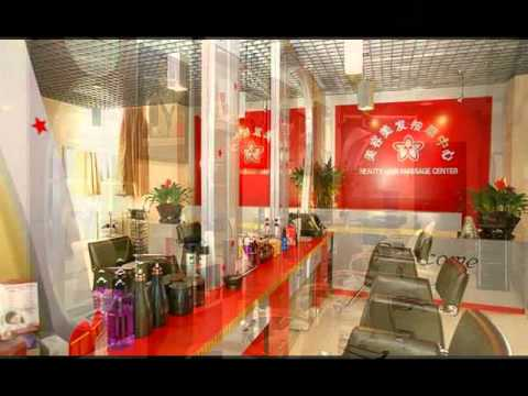 Malak design decoration int rieur ext rieure salon de coiffure youtube - Decoration interieur salon de coiffure ...
