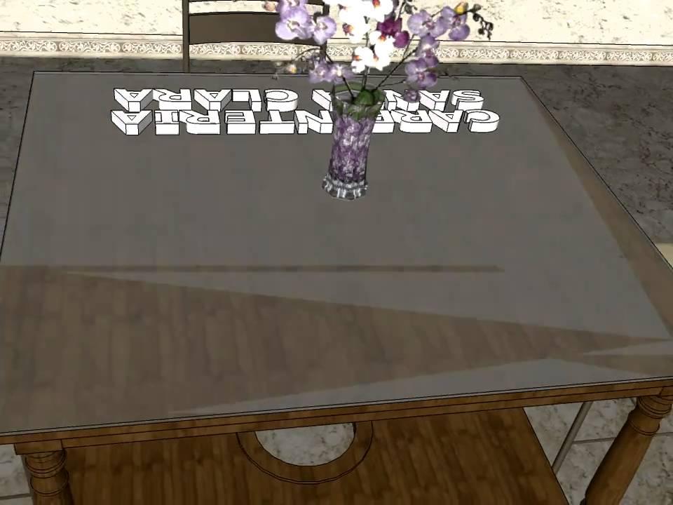 Mesa camilla con tarima carpinteria santa clara youtube - Carpinteria santa clara ...