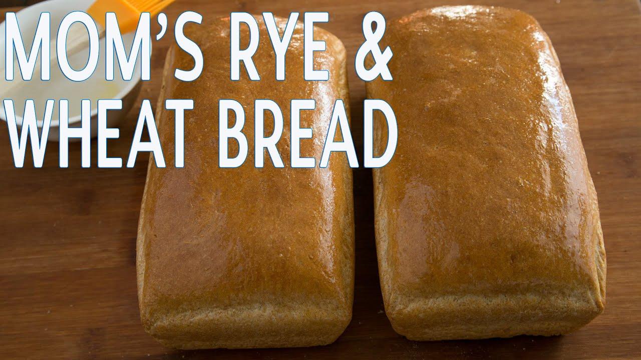 Bread recipes mom 39 s rye wheat bread natasha 39 s kitchen for Natashas kitchen