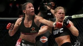 Ronda Rousey vs Cris Cyborg Santos SUPERFIGHT!