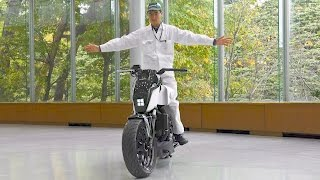 Honda Riding Assist motorcycle. YouCar Car Reviews.