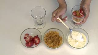 How to Make Yoghurt Parfait