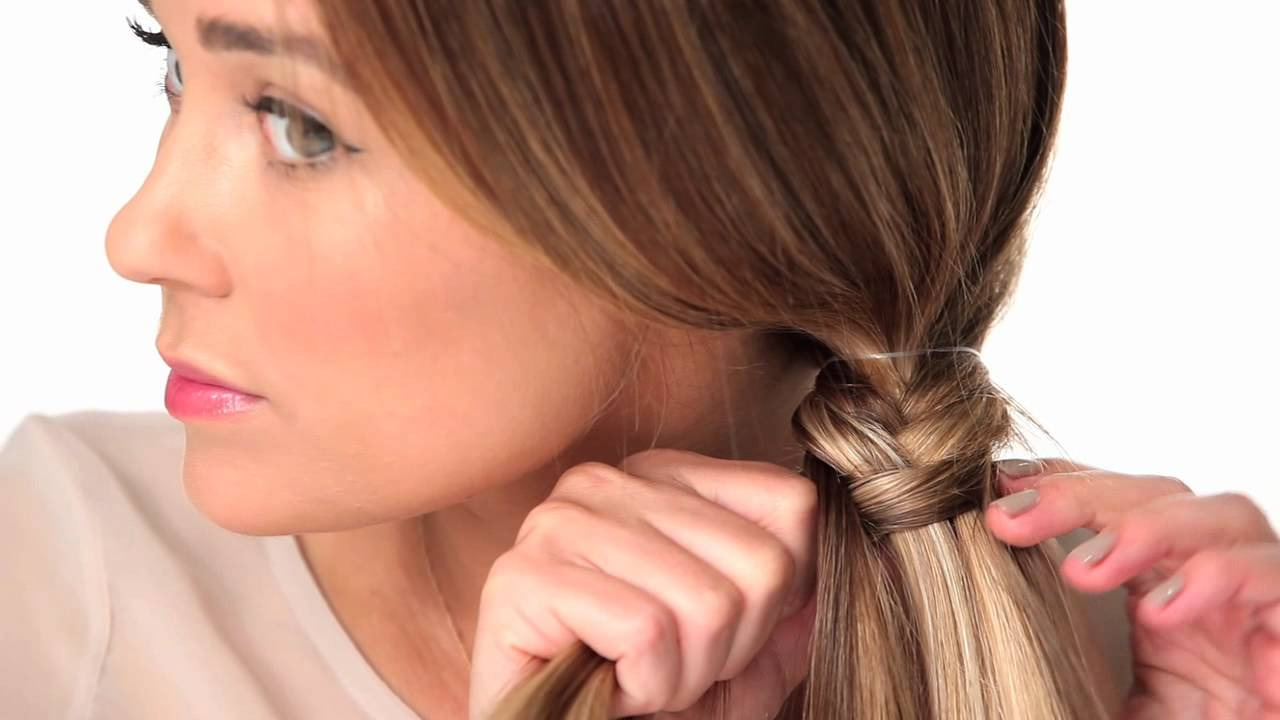how to fish tail braid - photo #13