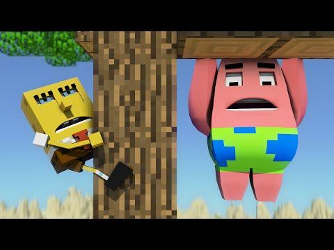 Spongebob v Minecrafte 3