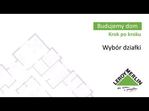 Wybór działki - budowa domu