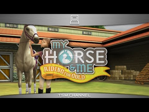 My Horse And Me : Riding For Gold (part 3/5) (Horse Game)