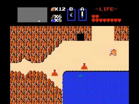 The Legend of Zelda - Legend of Zelda (NES) part 2 - User video