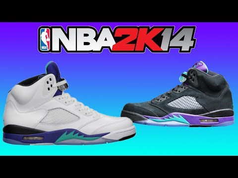 NBA 2K14: How To Make Jordan Grape 5's