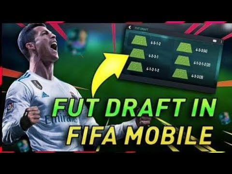 Fifa 18 Mobile - Fut Draft In Fifa Mobile (Concept Design) & Starting Screen Footage By @itz_Trobey
