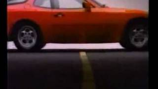 Реклама Porsche: 944 (1985 г.)