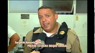 Pol�cia estoura disque-drogas em Juiz de Fora