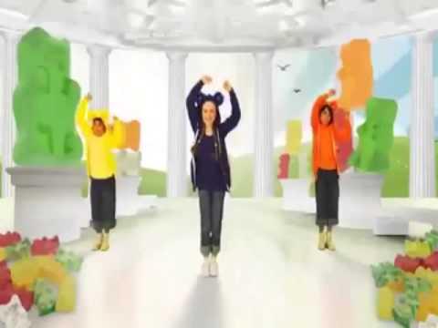 Nhạc vui nhộn cho bé   Bé tập nhảy cùng chú Gấu Gummy   Gummy Bear   YouTube