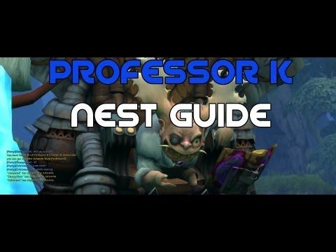 Level 60 Professor K Nest Guide w/ SecretSwrd (Gladiator) - Dragon Nest SEA