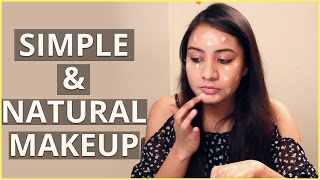 [Simple & Natural Makeup Tutorial For Beginners] Video