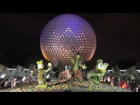 MouseSteps Weekly #91 Magic Kingdom Hub; Polynesian Resort; Epcot Flower & Garden Festival First Day