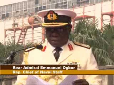 FIRST LADY LAUNCH NIGERIAN NAVY OPV-F91
