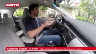 Teste: Toyota Corolla XEi 2015