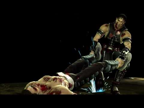 Kung Lao's Buzz Saw Fatality from Mortal Kombat (2011) in HD
