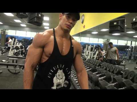Natural Bodybuilder Charles Fuller vLog Workout - Shoulders/Traps