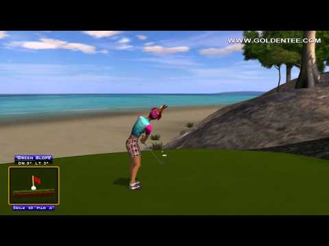Golden Tee Replay on Turtle Island