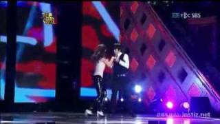 091229 - 2PM & SNSD Dance Performance : Be Without You - DuranDuran