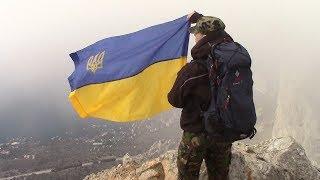 """Крим 2018. Волонтер InformNapalm читає вірш """"Заповіт"""" та передає вітання """"Слава Україні!"""""""